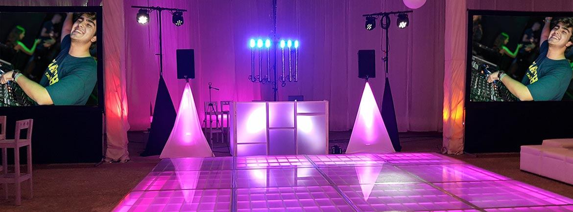 Evento Audio e Iluminación