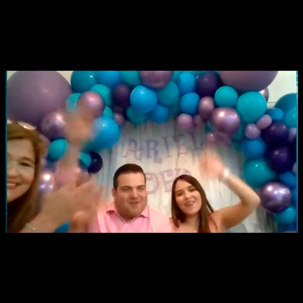 JJ Eventos Baby Shower 100 Mamás Dijeron Virtual